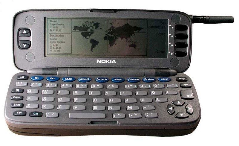 The Nokia 9000 - state-of-the-art in 1996